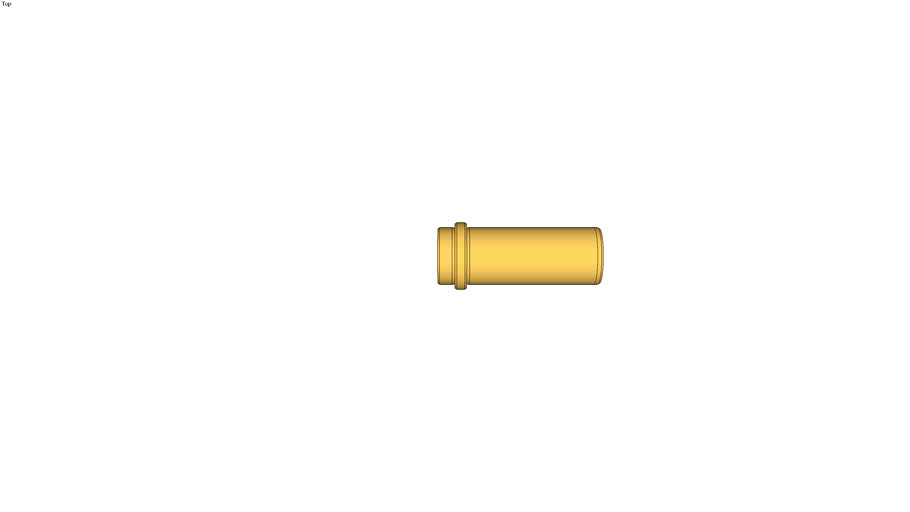 Bague bronze � collerette avec plot de centrage avec inserts graphit� standard europe et KLA
