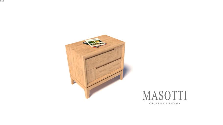 Mesa de Cabeceira Coleção Masotto MAS.391.0 F15(2)