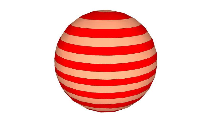 Striped Sphere