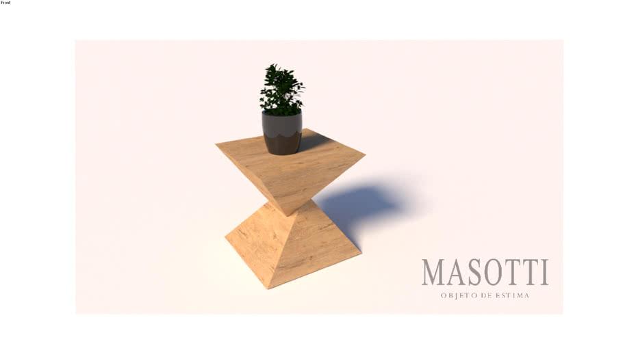 Mesa Auxiliar Coleção Masotti MAS.335.0 F15