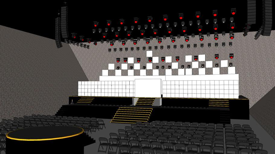 14+ Grammys 2019 Stage