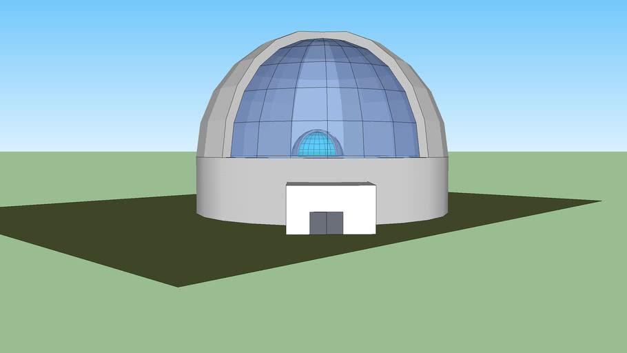 megan's lunar base model