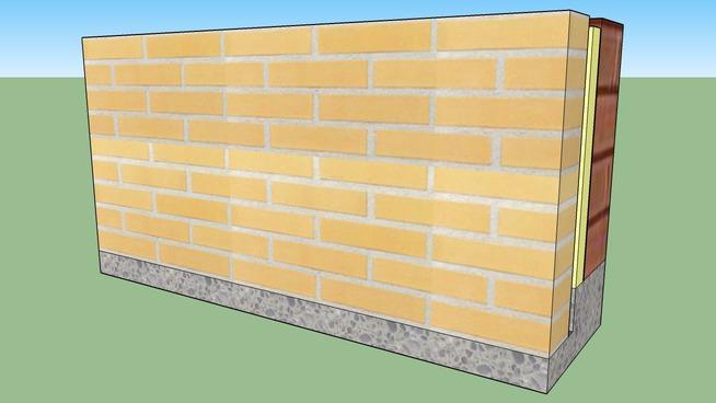Avenue geel bezand facade gevelsteen