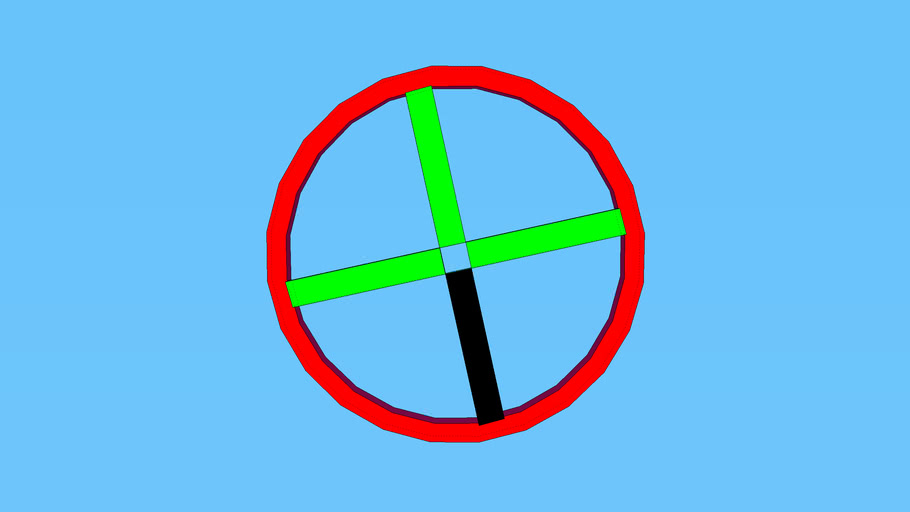 colored crosshair