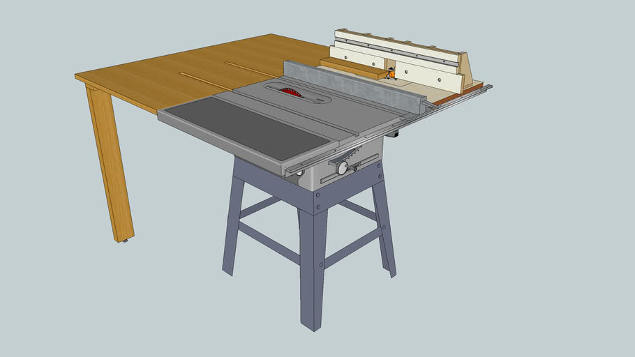 Craftsman Table Saw Outfeed Table