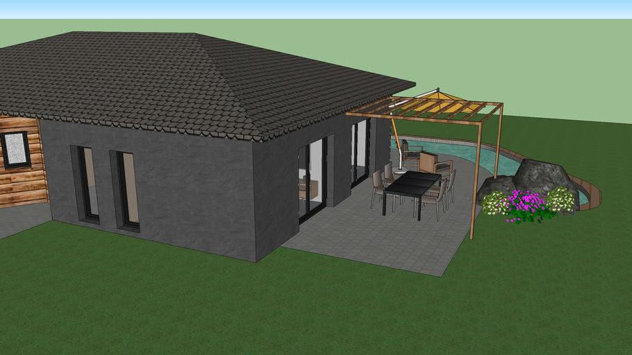 Maison Individuelle Moderne 3d Warehouse