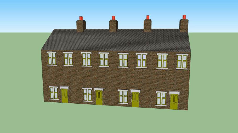 Street of Victorian Terraces