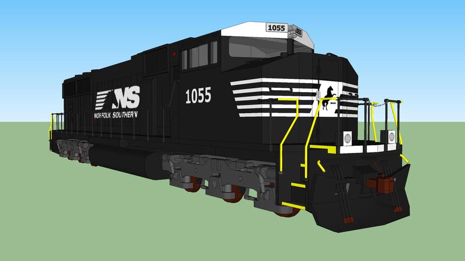 Norfolk Southern EMD SD60m