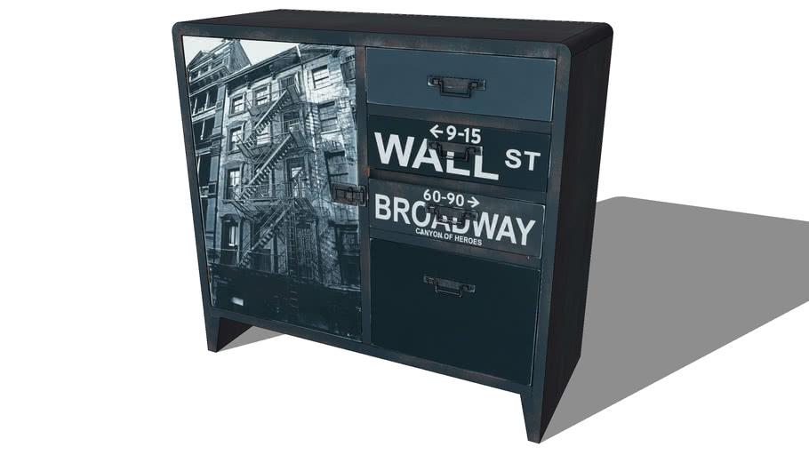 Buffet WALL STREET, Maisons du monde. Réf: 129.678 Prix:129€