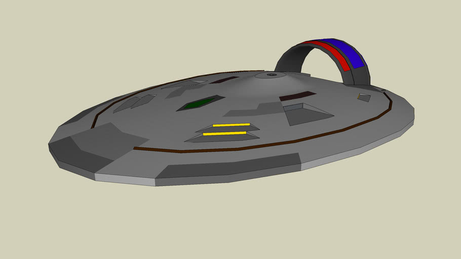 Star Trek Starship New Way Class