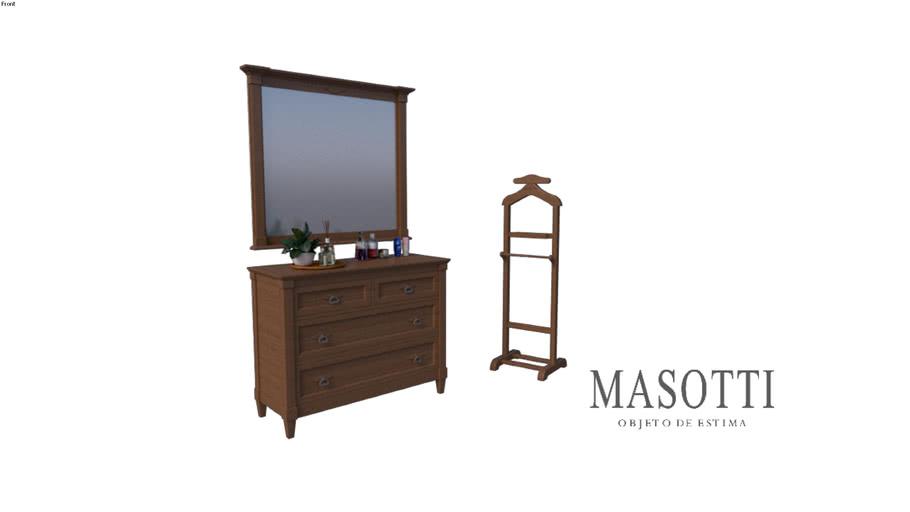Moldura e espelho Coleção Masotti Ref MAS.2356.0 F15
