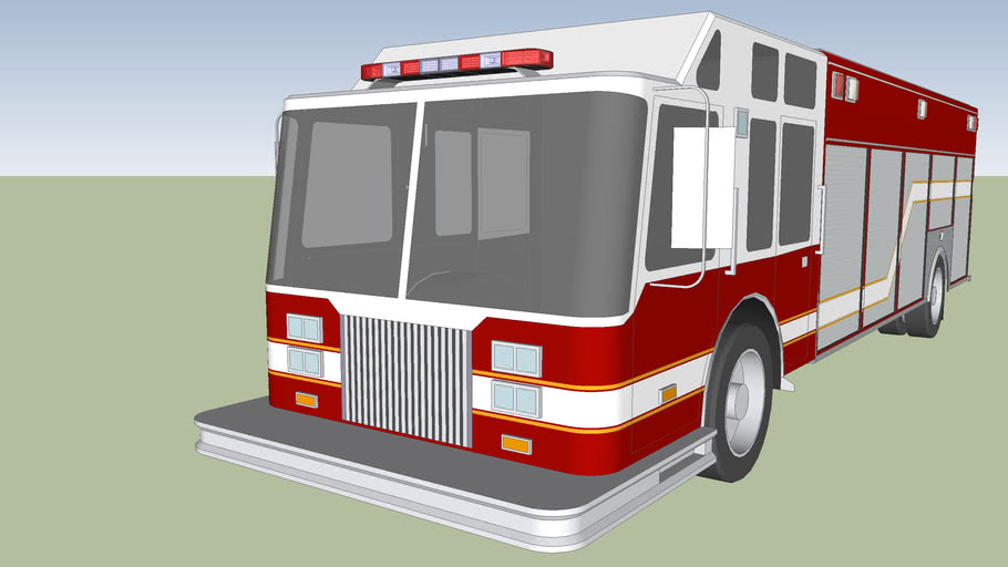 fire trucks rescue american