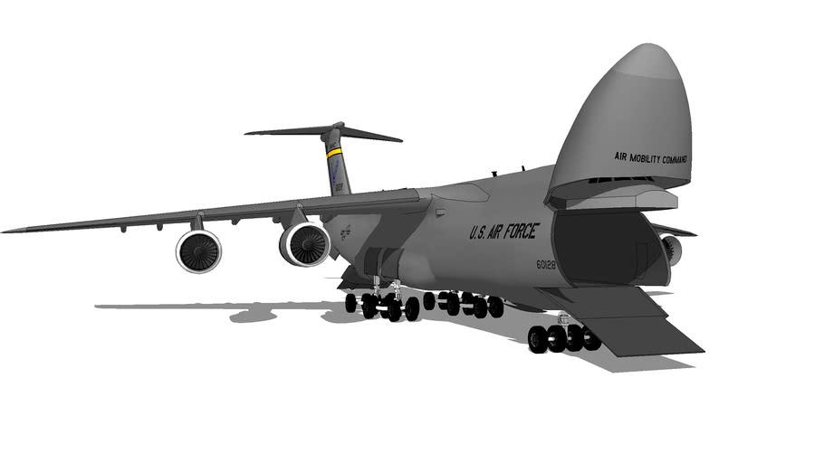 "Aircraft - Lockheed C-5M ""Super Galaxy"""