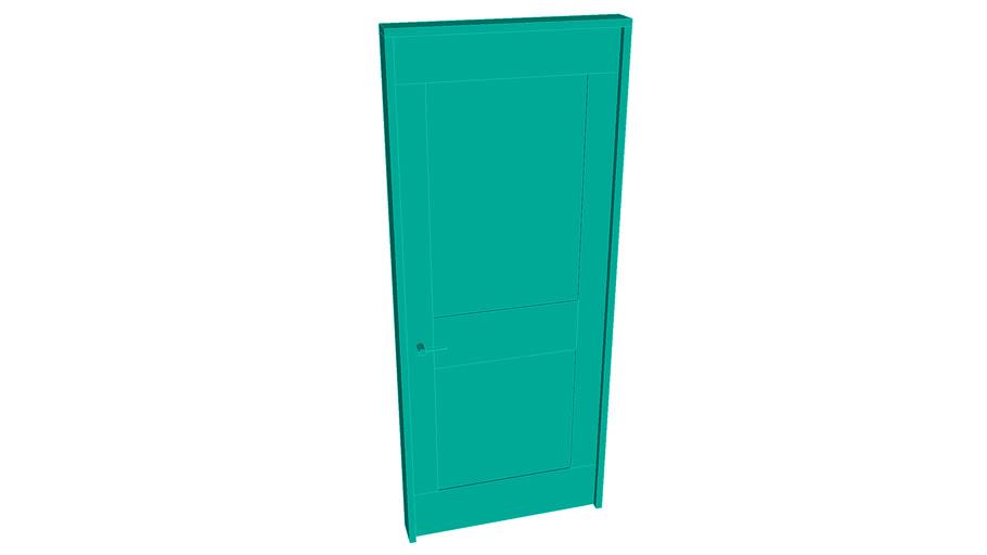 """2 Panel door - 2'6, 6'6, 2"""" +1"""" frame"""