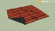 Tapetes, almofadas e cortinas