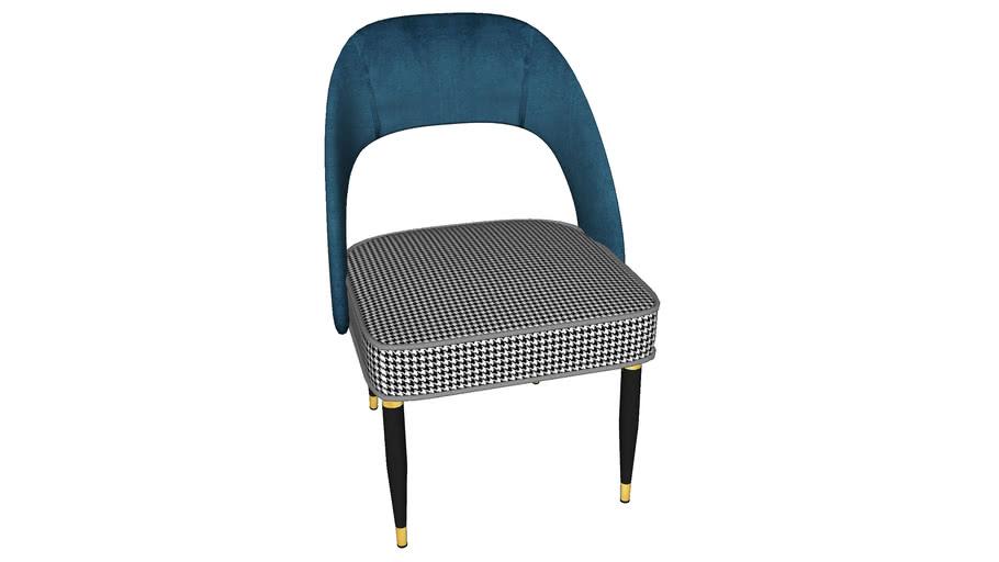 84148 Chair Samantha Bluegreen