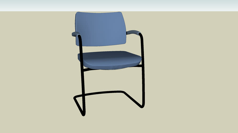 OFFICE CHAIR VRAY 2 OR HIGHER RENDER READY