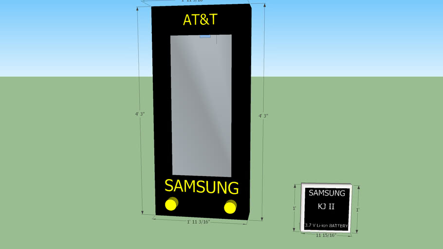 Cell Phone and Battery Models By Kenneth Johnson II Components
