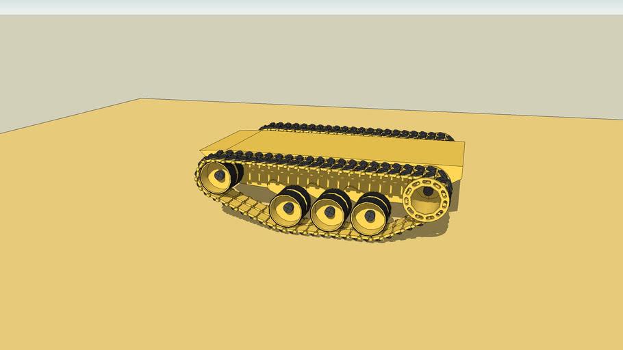 Tank Traks Physics Test