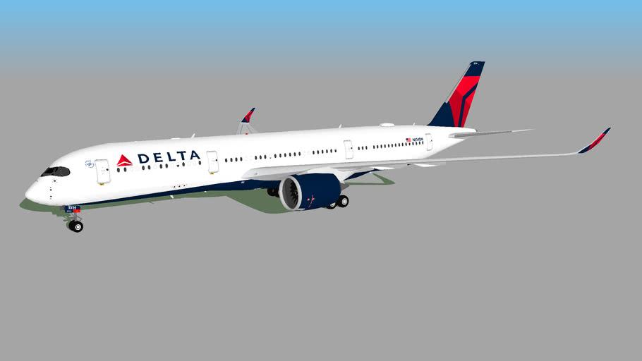 Delta Air Lines (N514DN) - Airbus A350-941 (2020)