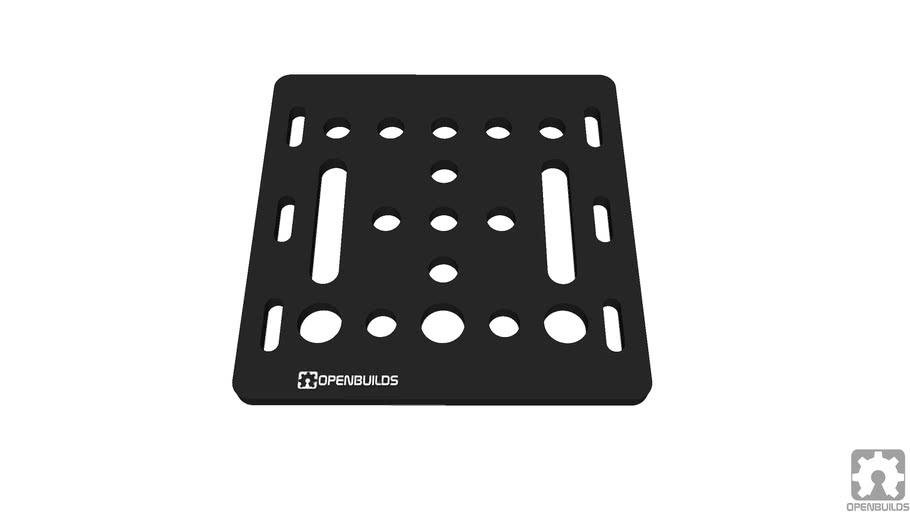 OpenBuilds V-Slot® Gantry Plate 20mm_1_0