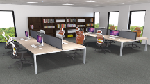 Mesa Plus Desking