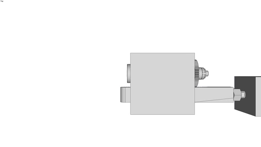 Mechanical in die tapping unit