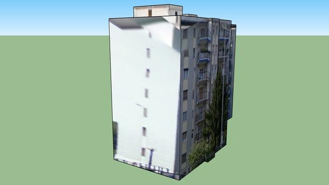 Изгражда се на адрес: Милано, Италия