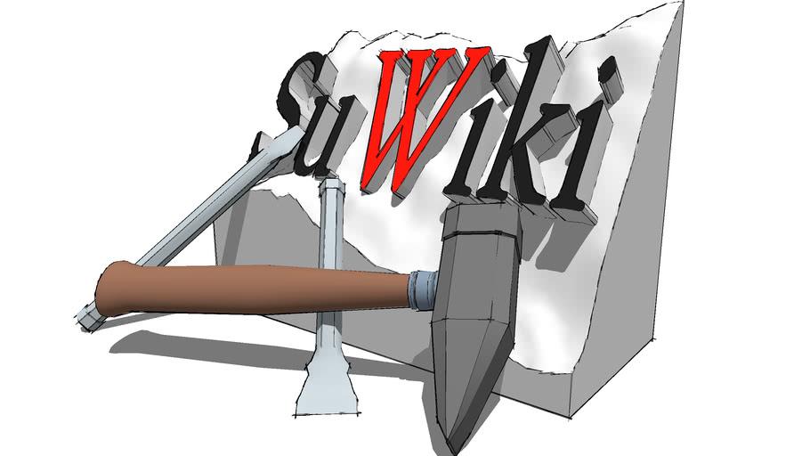 3d Challenge #9 - SuWiki Logo