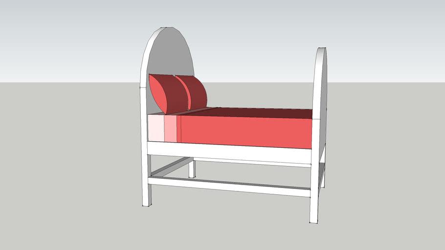 Girl's Queen Bed