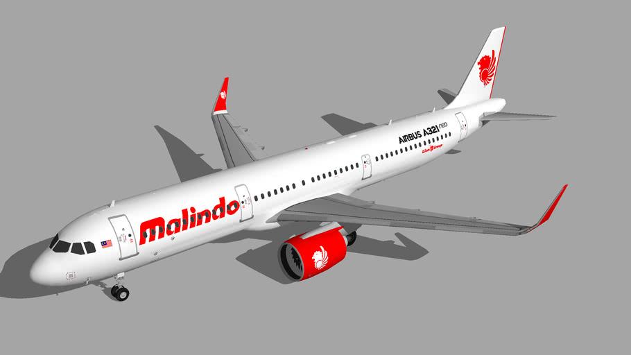 Malindo Air Airbus A321neo 1