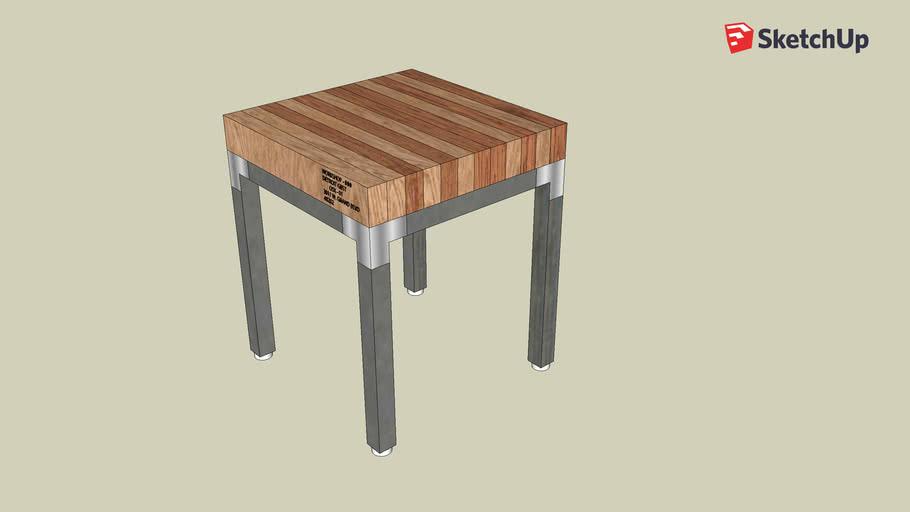 GBST 18x18 - Grand Boulevard Side Table