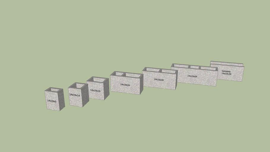 Blocos de concreto - ABNT