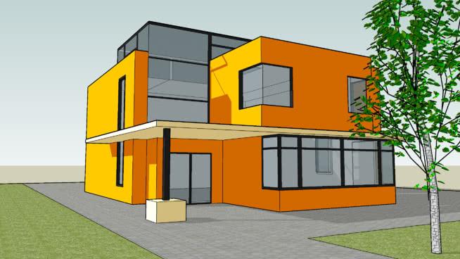 Modern House | 3D Warehouse