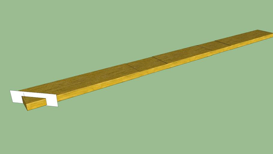 wooden laminated beam