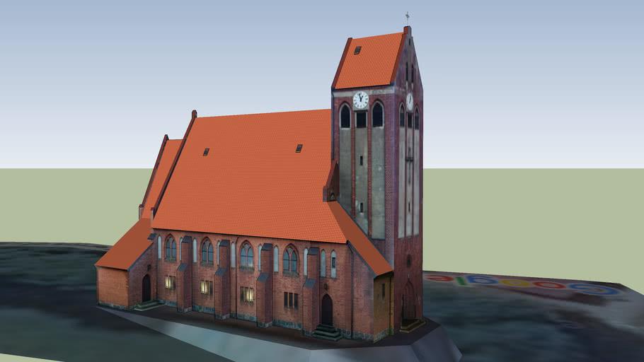 Przechlewo kościół MB Częstochowskiej