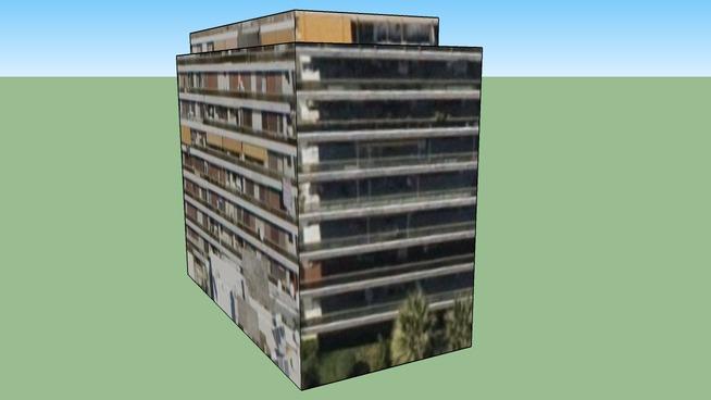 Building in Palaio Faliro, Greece