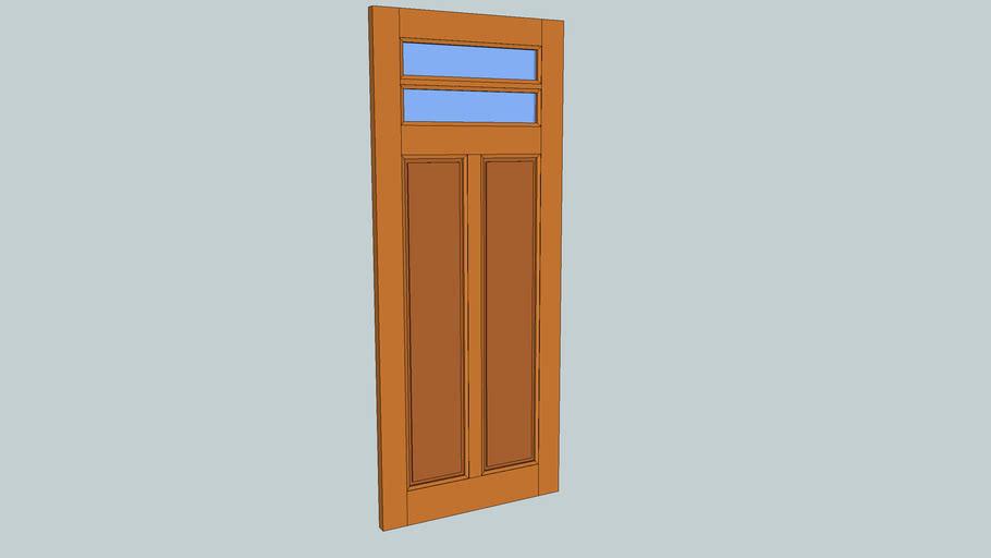 Binnendeur Glas en Paneel