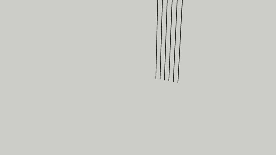 Metal Bars - Railing