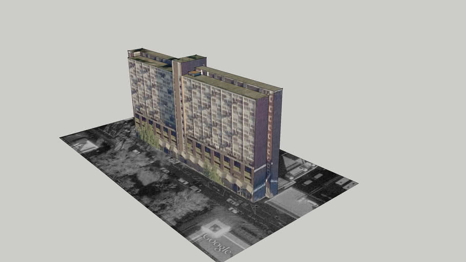 London3DProject: Sempley Place/Ebury Place Building