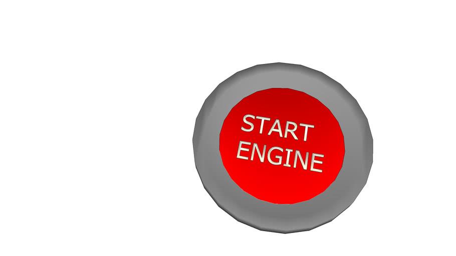 buton de pornire a motorului