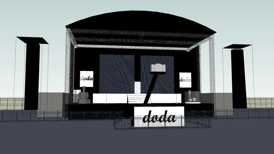 Scena The Seven Temptations Tour - Doda (Stage)
