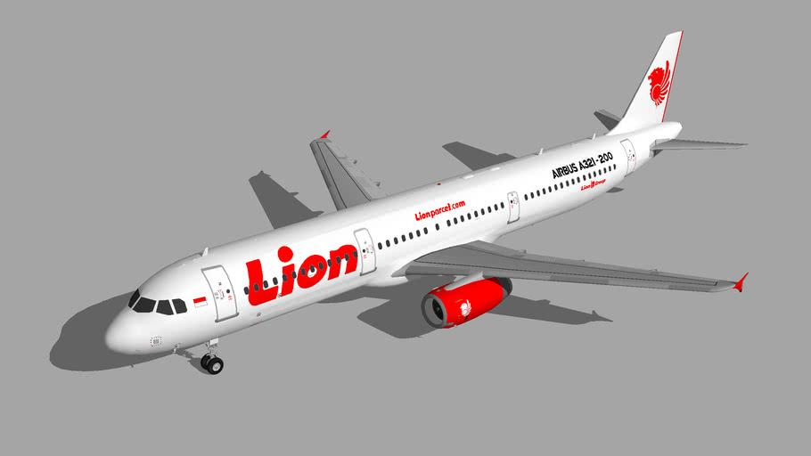 Lion Air Airbus A321-200 3