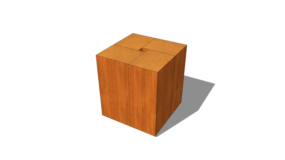 solid fir table