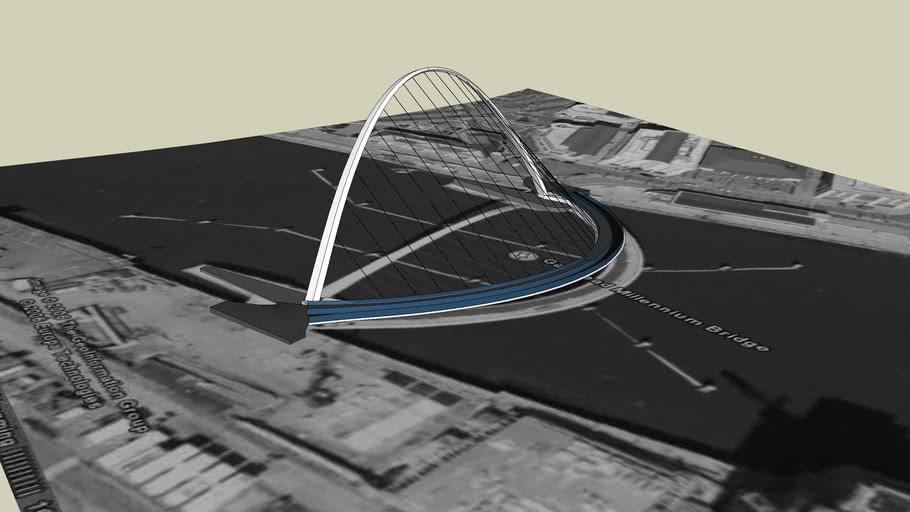 The Gateshead Millennium Bridge