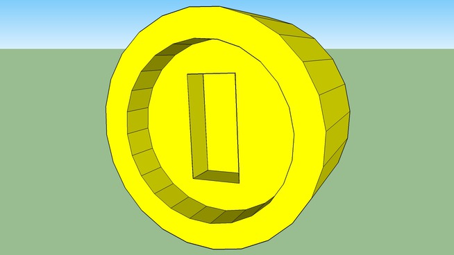 Mario 3D Coin