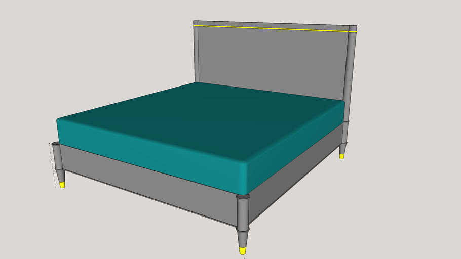 Davenport King Bed from Brownstone Furniture