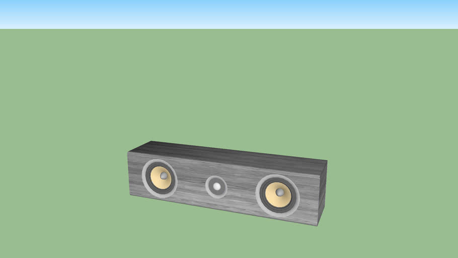 GuNilo 5.1 center speaker (part 2)