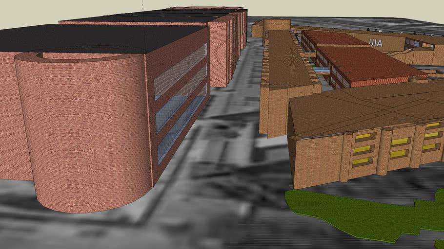 Universidad Iberoamericana Ciudad de México. Campus Completo. Version 05 Oct 2007. UIA. Ibero