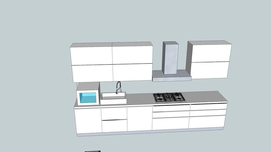 Cucina Star Mondo Convenienza 2 3d Warehouse